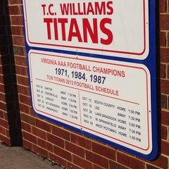 Photo taken at T.C. Williams High School by Wakene B. on 5/11/2014