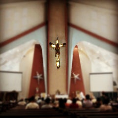 Photo taken at Chapel of St. Benedict by Gerson B. on 12/29/2012
