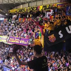 Photo taken at Palau Blaugrana by Juan M. on 4/25/2013