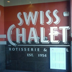 Photo taken at Swiss Chalet by Fred S. on 5/26/2013