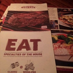 Photo taken at Outback Steakhouse by Nicolee W. on 10/1/2012