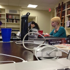 Photo taken at Providence Athenaeum by Andy A. on 11/10/2012
