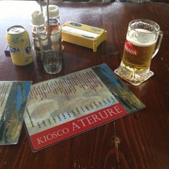 Photo taken at Kiosco Bar Aterure by Oliver W. on 10/1/2012