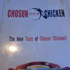 Photo taken at Chosun Chicken by Karen S. on 5/25/2013