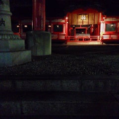 Photo taken at 春日神社 by Rie O. on 12/14/2013