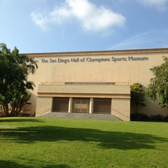 """Photo taken at San Diego Hall of Champions Sports Museum by 📚Dr. G the """"NBA PLYR"""" 🏀 on 3/17/2013"""