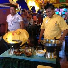 Photo taken at La Parrilla Cancun by Jeff Allan B. on 7/6/2013