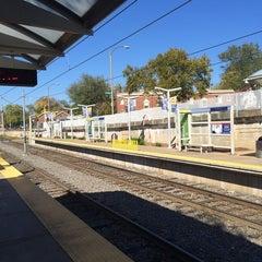 Photo taken at MetroLink - Delmar Loop Station by Ken S. on 10/22/2014
