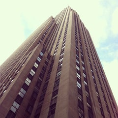 Photo taken at 30 Rockefeller Plaza by Jasmine B. on 3/13/2013