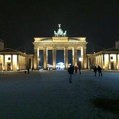 Photo taken at Pariser Platz by Gavin M. on 1/13/2013
