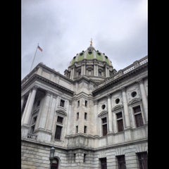 Photo taken at Pennsylvania State Capitol Building by Paige on 12/8/2012