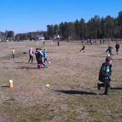 Photo taken at YAKS Soccer Complex by Robert on 2/9/2013