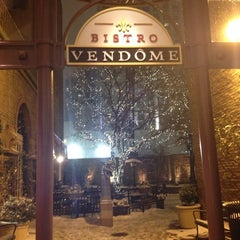 Photo taken at Bistro Vendome by Leah J. on 11/16/2014