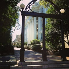 Photo taken at University of Georgia by Kristin B. on 1/20/2013
