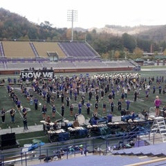 Photo taken at Western Carolina University by Michael M. on 10/18/2012
