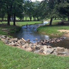 Photo taken at Lake Fairfax Park by Anna S. on 8/14/2013