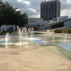 Photo taken at Young Circle-ArtsPark by stephanie w. on 3/16/2013