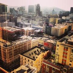 Photo taken at Parc 55 San Francisco - A Hilton Hotel by Jeannette B. on 1/18/2013