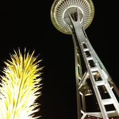 Photo taken at Space Needle by Anna S. on 1/16/2013
