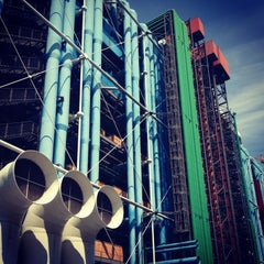 Photo taken at Centre Pompidou – Musée National d'Art Moderne by studioL on 7/6/2013