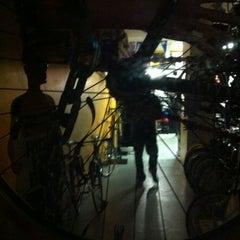 Photo taken at Ciel Bike Shop by Céline on 10/31/2012