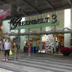 Photo taken at Greenbelt 3 by Farhana A. on 12/2/2012