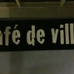 Photo taken at Café de Ville by Márcia W. on 11/21/2012
