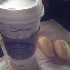 Photo taken at Starbucks by Nikonova🐬 on 2/20/2015