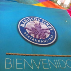 Photo taken at Mariscos Tino's by Alvaro C. on 12/24/2012