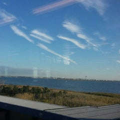 Photo taken at MTA Subway - Broad Channel (A/S) by Reginald M. on 10/7/2015