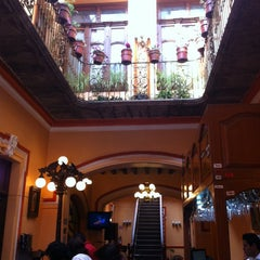Photo taken at Casa Real Poblana by Jose-Maria V. on 3/2/2014