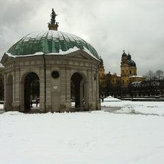 Photo taken at Hofgarten by Gabriel S. on 2/17/2013