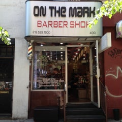 Photo taken at On The Mark Barbershop by Takanori M. on 6/1/2014