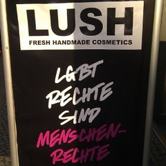 Photo taken at LUSH by Mademoîselle on 2/4/2014