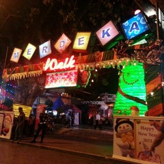 Photo taken at Merdeka Walk by Rama P. on 12/30/2012