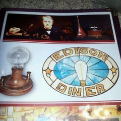 Photo taken at Edison Diner by Infirmary P. on 2/25/2012