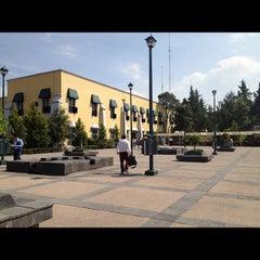 Photo taken at Delegación Miguel Hidalgo by Alejandra P. on 10/23/2012
