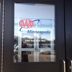 Photo taken at AAA Minneapolis - St. Louis Park by Maria H. on 4/25/2013