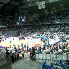 Photo taken at Barclaycard Center - Palacio de Deportes de la Comunidad de Madrid by Maria Jesús M. on 6/9/2013