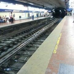 Photo taken at Estación Diagonal Norte [Línea C] by Joao Felipe S. on 2/11/2013