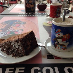 Photo taken at Café Colonia by Marko on 12/28/2013