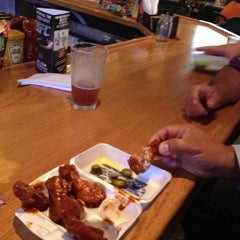 Photo taken at Quaker Steak & Lube® by Chris S. on 10/25/2012