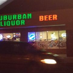 Photo taken at Suburban Liquors by Mandi V. on 9/9/2013