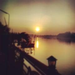 Photo taken at บ้านเพียงตะวัน by Krish Riddhnaronk on 2/1/2014