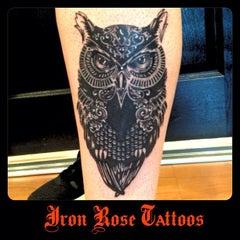 Photo taken at Iron Rose Tattoos by Iron Rose Tattoos on 1/12/2013