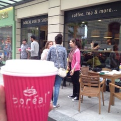 Photo taken at Boréal Coffee Shop by Reszy on 6/29/2013
