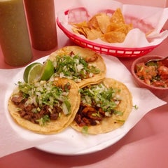 Photo taken at Dona Naty's Tacos by Daniel L. on 11/29/2013