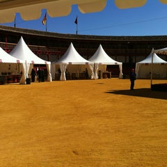 Photo taken at Plaza De Toros by Julio D. on 5/25/2013