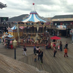 Photo taken at Pier 39 by Jorge N. on 5/6/2013