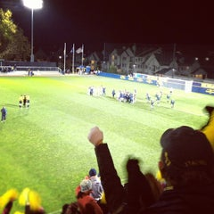 Photo taken at U-M Soccer Complex by Aaron R. on 10/11/2012